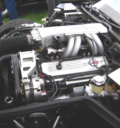 The L98 Corvette engine was mated to the 700R4 tranny