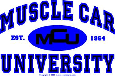 Muscle Car U Logo