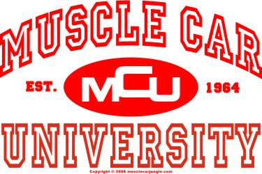 Muscle Car University Logo